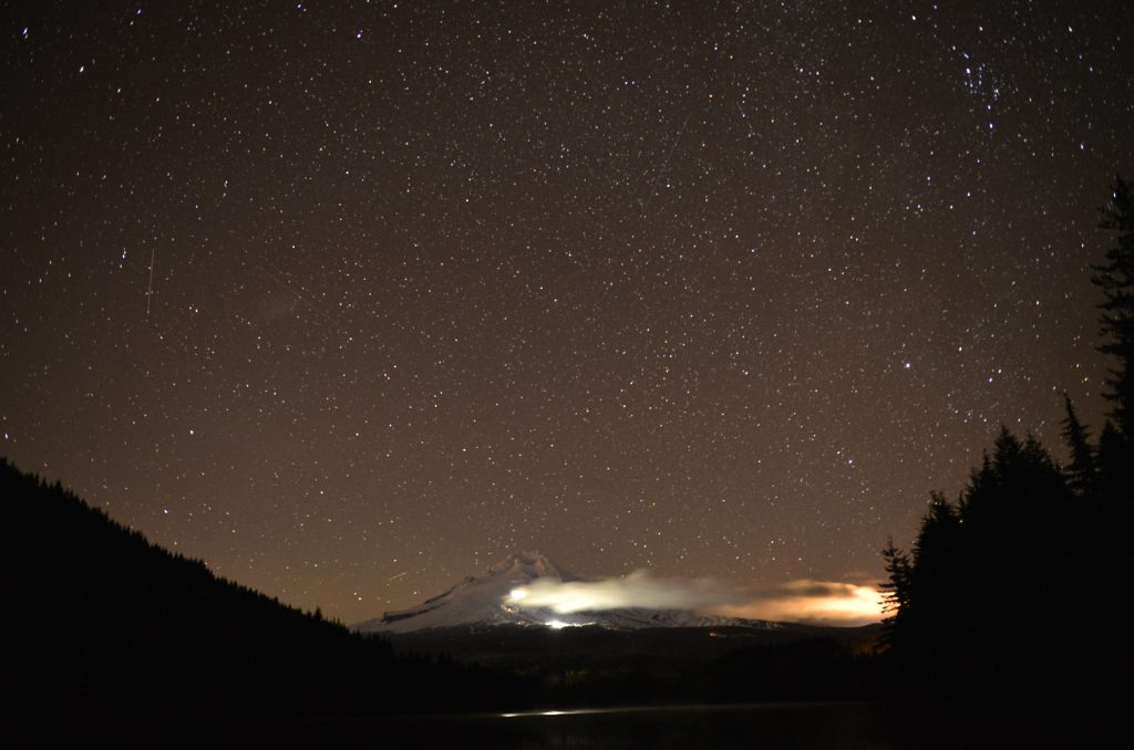 Mt.Food from Trillium Lake