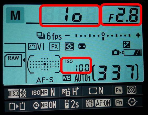 F2.8 1/10s ISO100