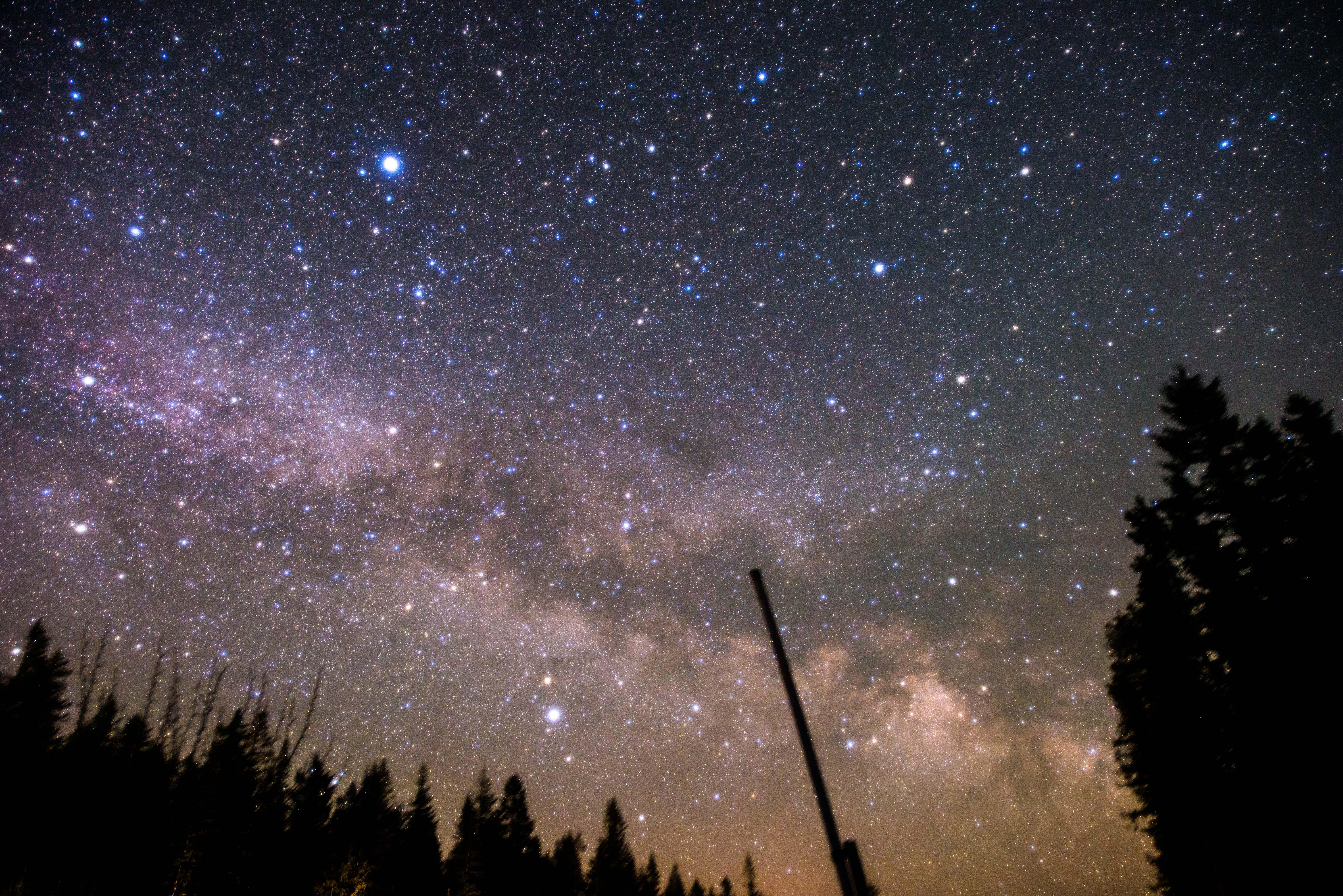 2017年8月の星、天の川日和は?