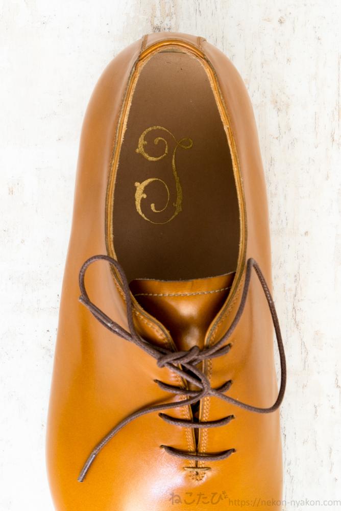 オーダーメイド イタリア 革靴 ビスポーク ホールカット マッケイ