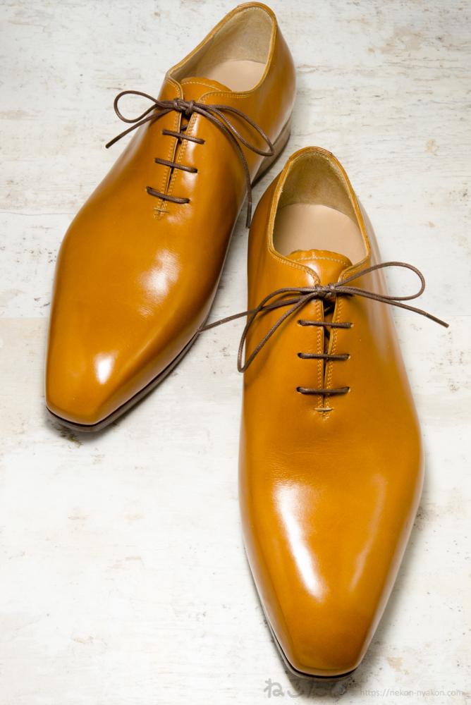 オーダーメイド イタリア 革靴 ビスポーク