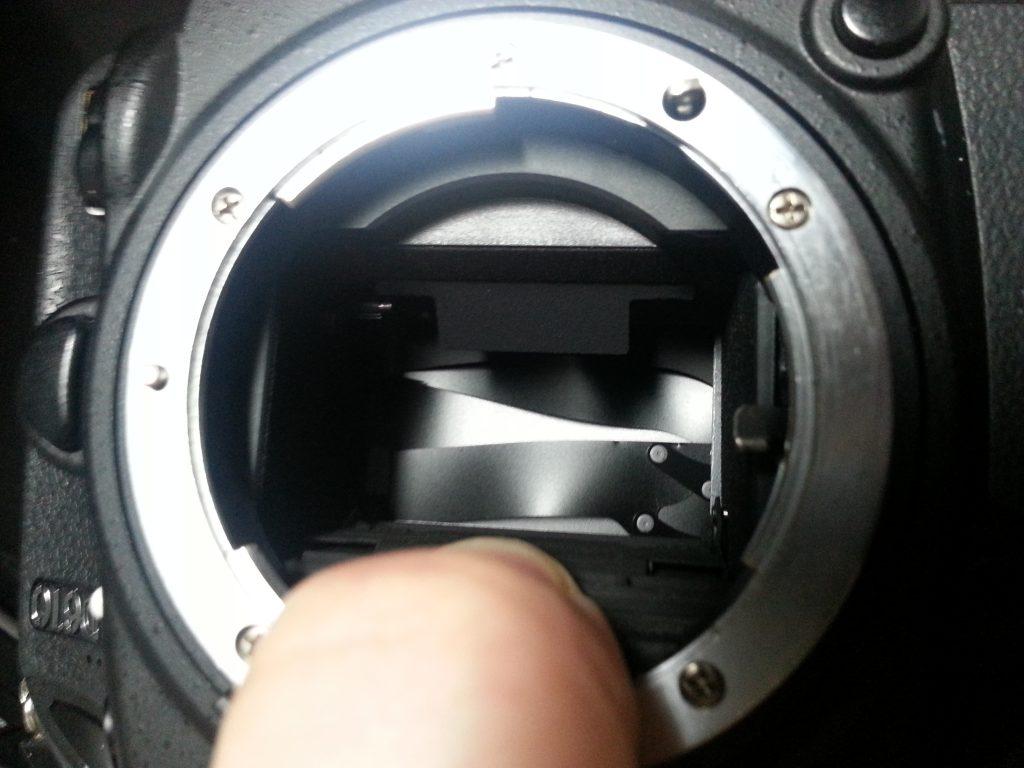 D610 シャッター故障