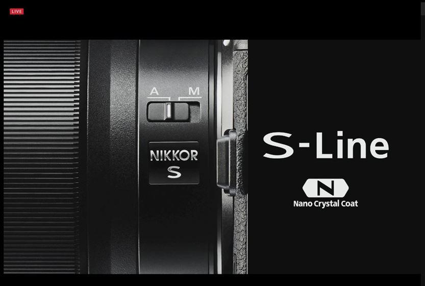 ニコン フルサイズミラーレス Z7 Z6 発売日 価格 9月下旬 11月下旬 S-Line Sライン Sライン Zマウント