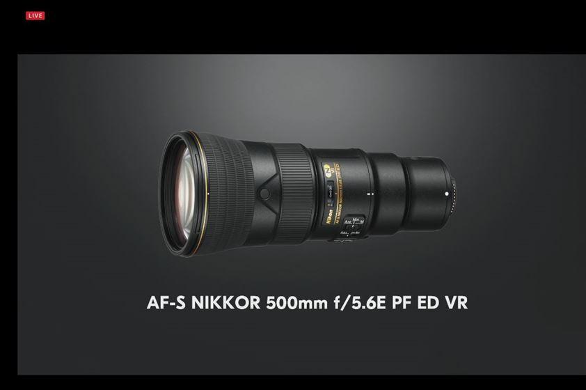 ニコン フルサイズミラーレス Z7 Z6 発売日 価格 9月下旬 11月下旬 S-Line Sライン Sライン Zマウント Fマウント 新発売レンズ  500mm f/5.6E