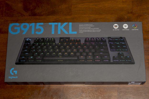 G915 TKL (G913 TKL) タクタイル Tactile Logicool Logitech