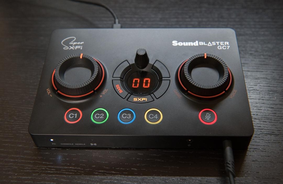 Sound Blaster GC7 外観