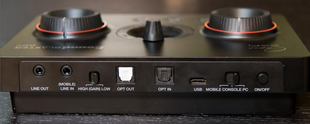Sound Blaster GC7 インターフェース