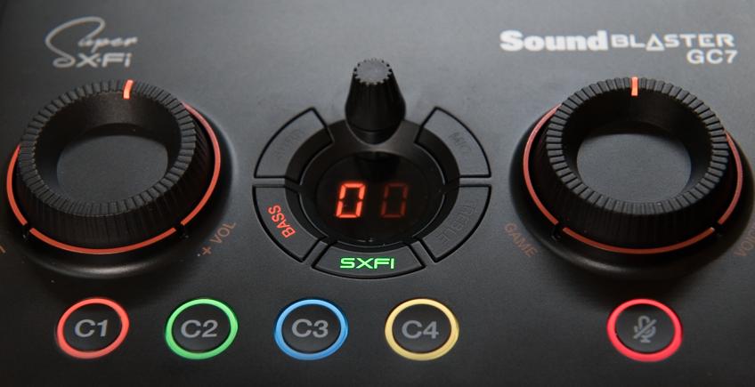 Sound Blaster GC7 Super X-Fiモード