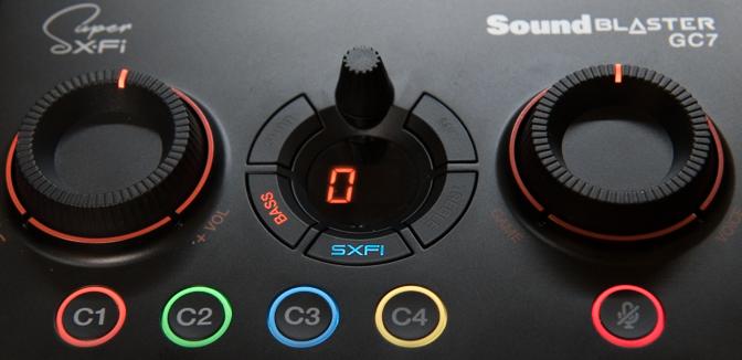 Sound Blaster GC7 Super X-Fi Battle モード